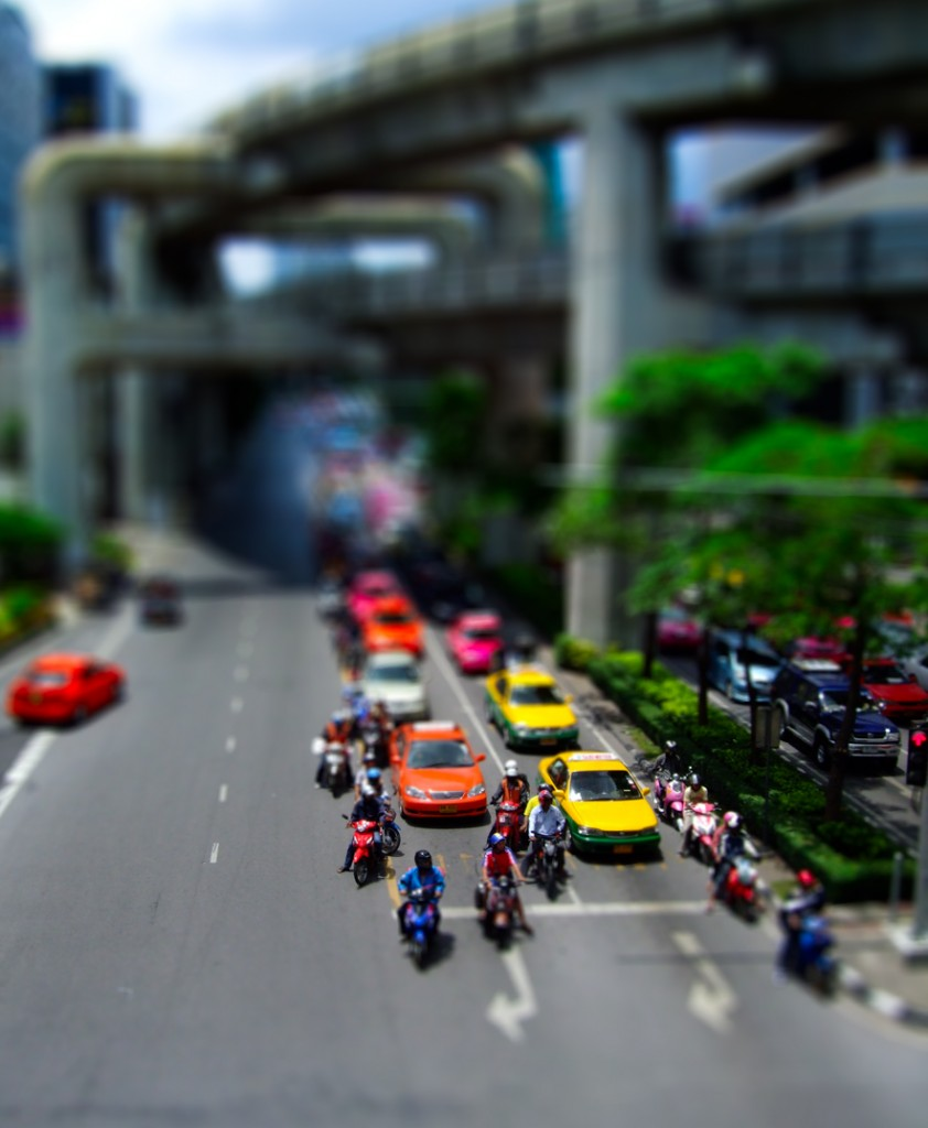 Tilt-Shift Photography - SIAM Paragon Bangkok
